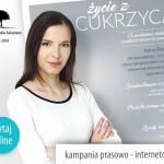 Życie z cukrzycą – Kampania prasowo-internetowa