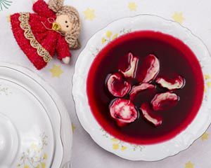 Dieta cukrzycowa na święta zawiera barszcz i uszka