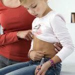 Leczenie cukrzycy typu 1 zastrzykiem z insuliny