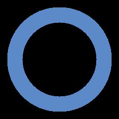 Cukrzyca - Niebieski pierścień, który jest uznany za międzynarodowy symbol walki z cukrzycą na świecie.