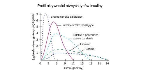 Czas działania insulin