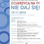 Bezpłatna konferencja szkoleniowa 'Z cukrzycą na Ty, nie daj się!' gminy Białołęka