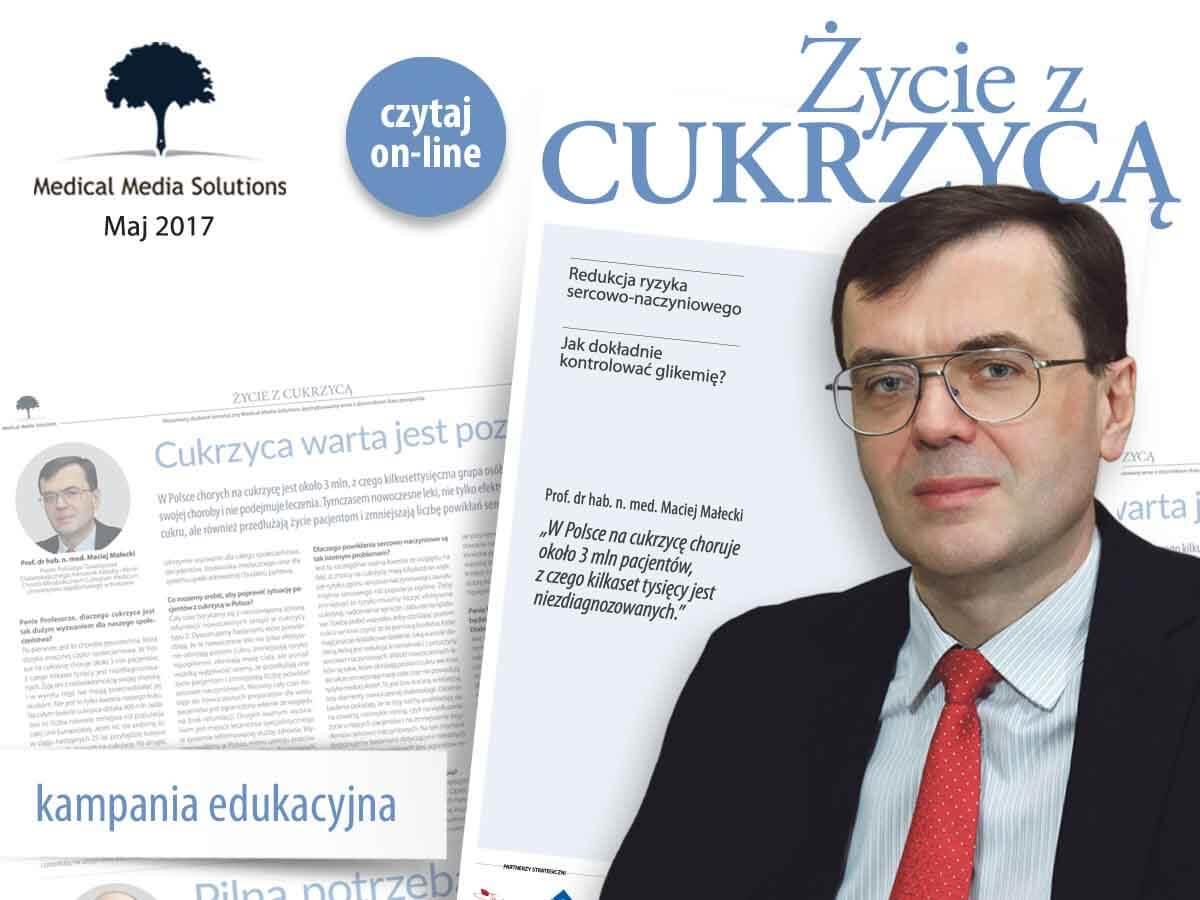 Cukrzyca Polska jest partnerem akcji 'Zycie z Cukrzycą'
