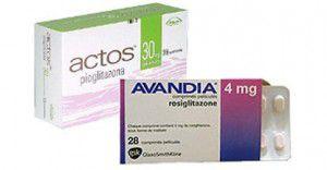 Actos i Avandia nie są dostępne w Polsce, jedynym dostepnym lekiem z tej grupy - i bezpośrednim zamiennikiem Actos, jest Bioton