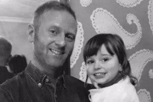 Dan Darkes z córką