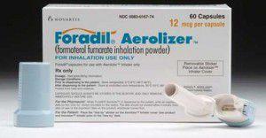Formoterol opakowanie oraz inhalator