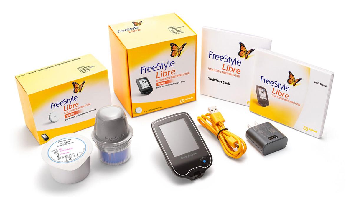 FreeStyle Libre zestaw do monitorowania glikemii