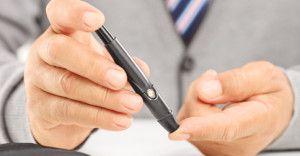 Kontrola cukrzycy typu 1 badanie glukometrem
