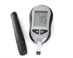 Glukometr służy do pomiaru poziomu cukru we krwi.