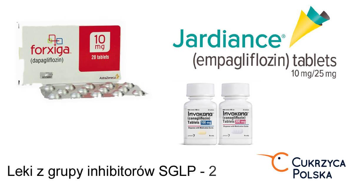 Inhibitory SGLP 2 invokana forxiga jardiance