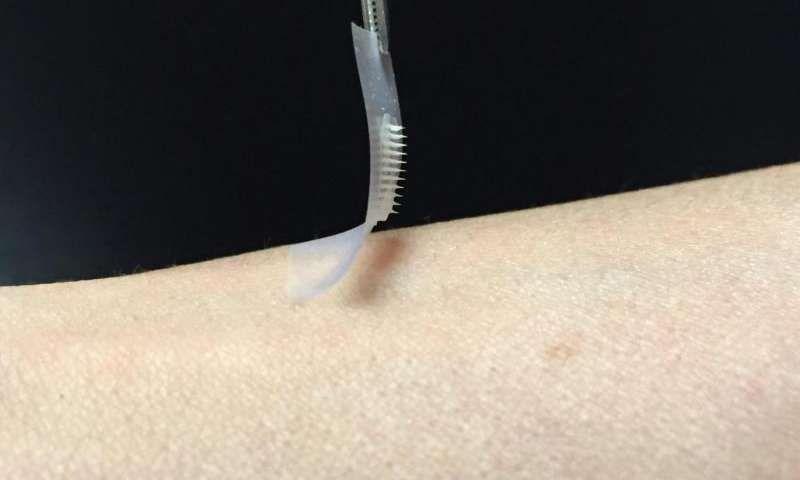 Inteligentny plaster insulinowy