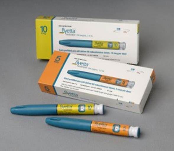 Leki inkretynowe zwane analogami GLP-1 w postaci jednorazowych penów do iniekcji.