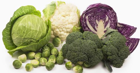 Kapusta, brokuły kalafior w cukrzycy i błonnik