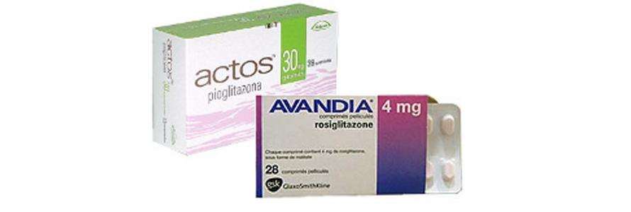 Actos i Avandia to leki z grupy