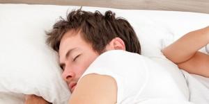 Osoba chora na cukrzycę i sen